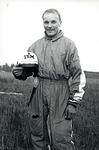 Antero Takkala 1960-luvun puolivälissä. IBM Flying Club. Kuva: ATa