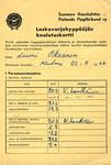 SLK:n alkeiskurssi 3 Malmilla alkoi 20.4.1966.