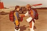 Marit oppilas ja Lake HM 1977.