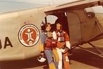 2-way hypylle lähdössä Malmilla 1977.