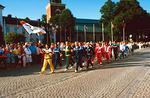 Taito/Tarkkuus-MM, Nyköping 28.7.-7.8.1988. Avajaiset. Kuva: via KausE