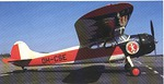 SLK:n ensimmäinen oma lentokone Cessna 195 OH-CSE.