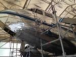 "Airveteranin DC-3 OH-LCD ""Lokki"" menossa asuntomessuille."