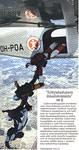 Erityislaatuista ilmailutoimintaa: Porterista exit Malmille. Hyppääjillä on laskuvarjohyppääjän lupakirja.