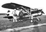 Hyppykeikka Vaasassa 1971 kerhon Fairchildilla.